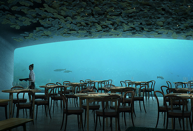 Alice Collection & Underwater restaurant in Norway