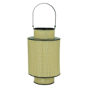 FURNITURE & DECO Lantern bamboo/metal