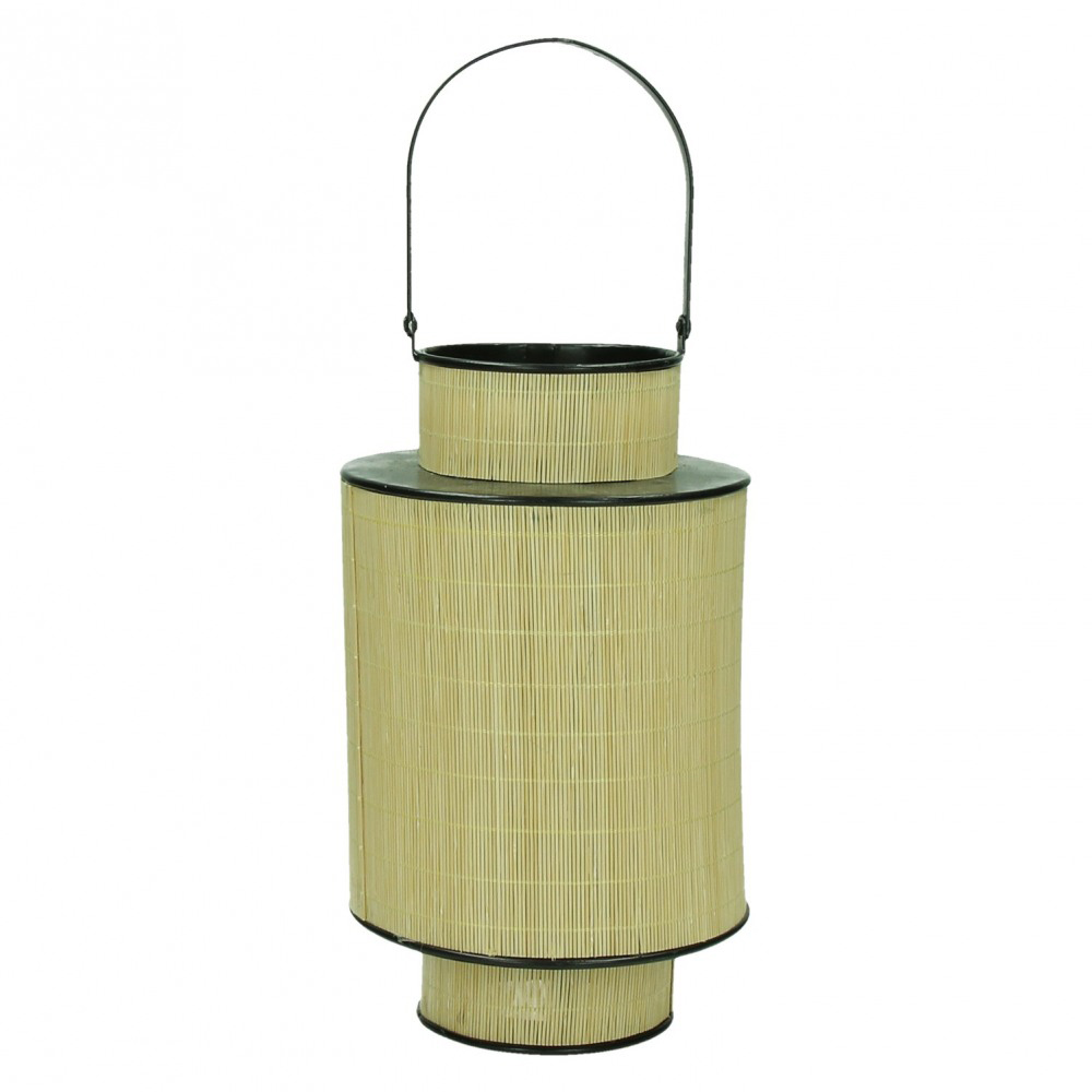 FURNITURE & DECO Lanterna bambu/metal #1