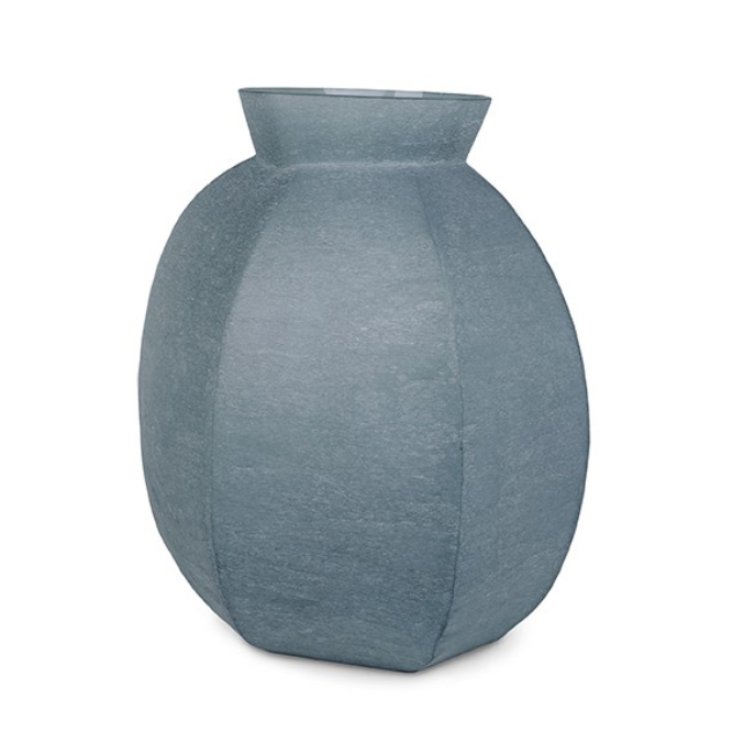 FURNITURE & DECO Karakol - Vase round indigo #1