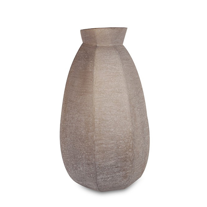 FURNITURE & DECO Karakol - Vase tall grey #1