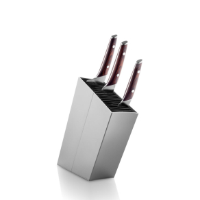 EVA SOLO Grey knife stand Angled