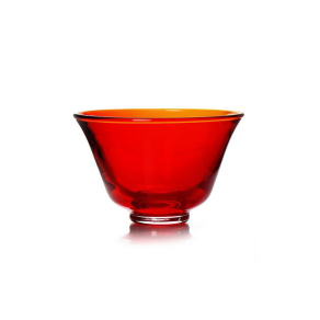 MARIAGE FRÈRES Rainbow Tea - Red glass tea cup