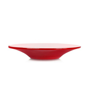 MARIAGE FRÈRES Pleine Lune - Lacquered red saucer