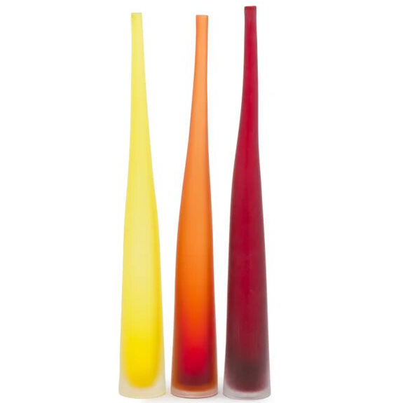 SIGNATURE Bambu - Red vase #2
