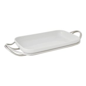 COOK & SHARE Holder with rectangular dish