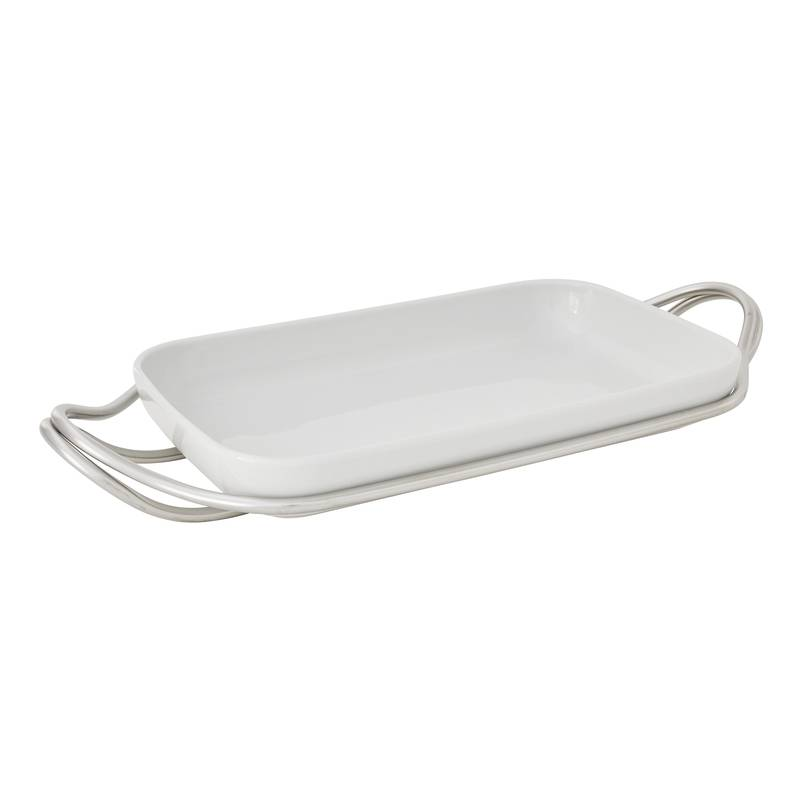 COOK & SHARE Holder with rectangular dish #1
