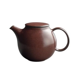 COOK & SHARE Brown Pebble teapot