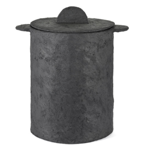 SERAX Earth - Pot and lid black