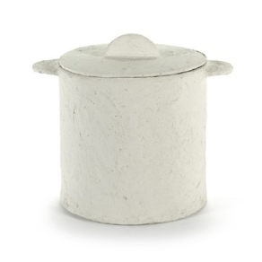 SERAX Earth - Pot and lid beige