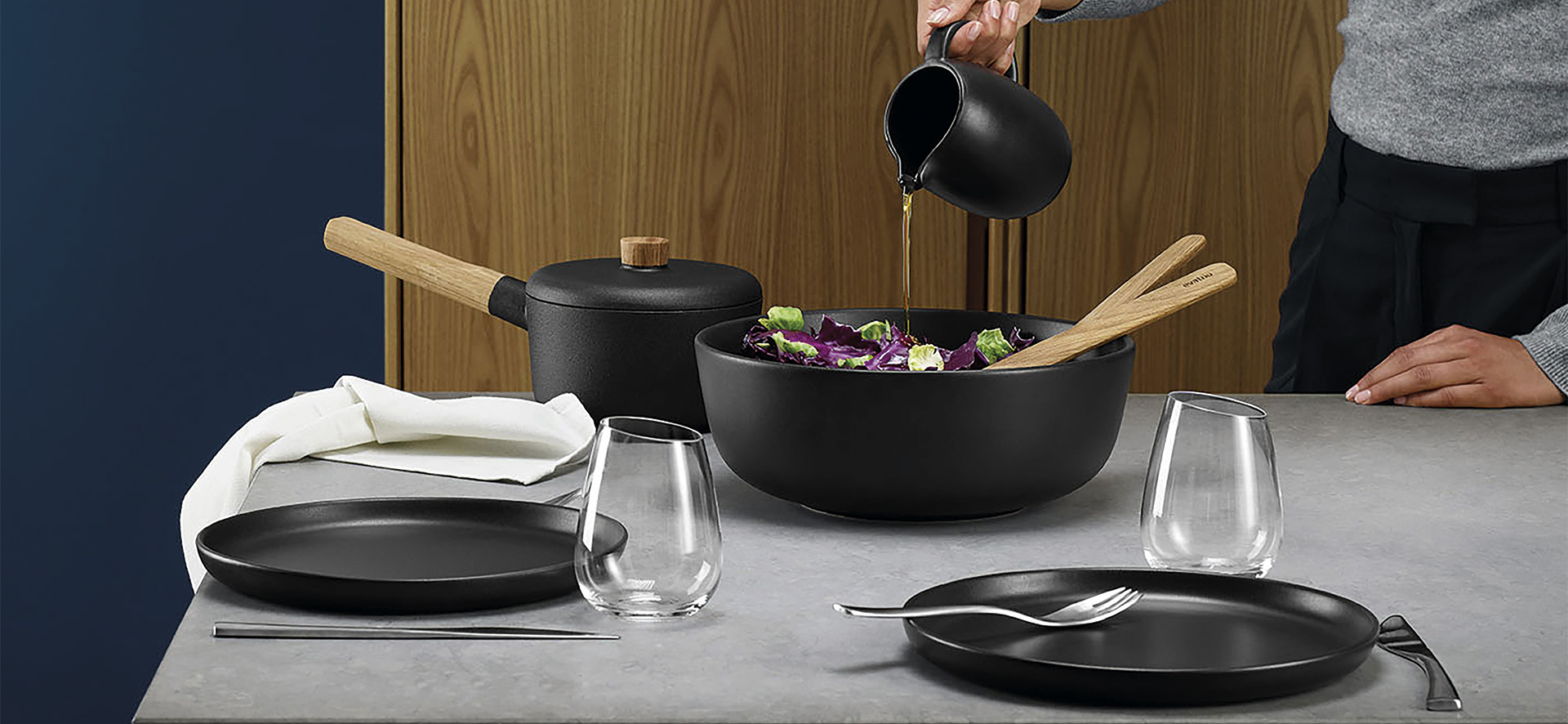 EVA SOLO Nordic Kitchen - Salad bowl #3