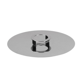 COOK & SHARE Cake stand/cover steel 34cm