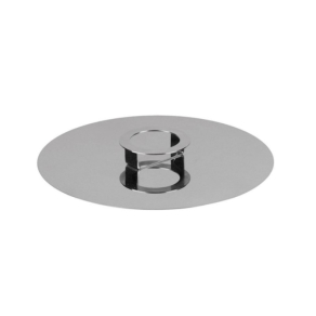 COOK & SHARE Cake stand/cover steel 30cm