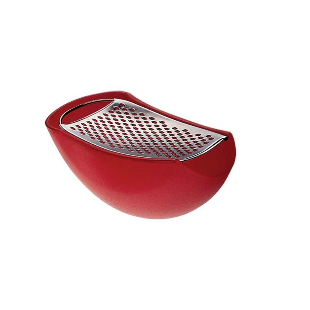 ALESSI Parmenide red cheese grater #1