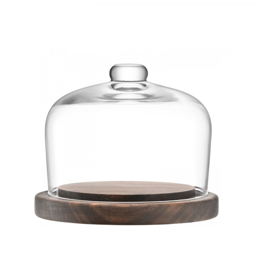 LSA City - Dome and walnut base 13.5cm #1