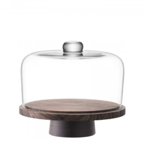 LSA City - Dome and walnut stand 26cm