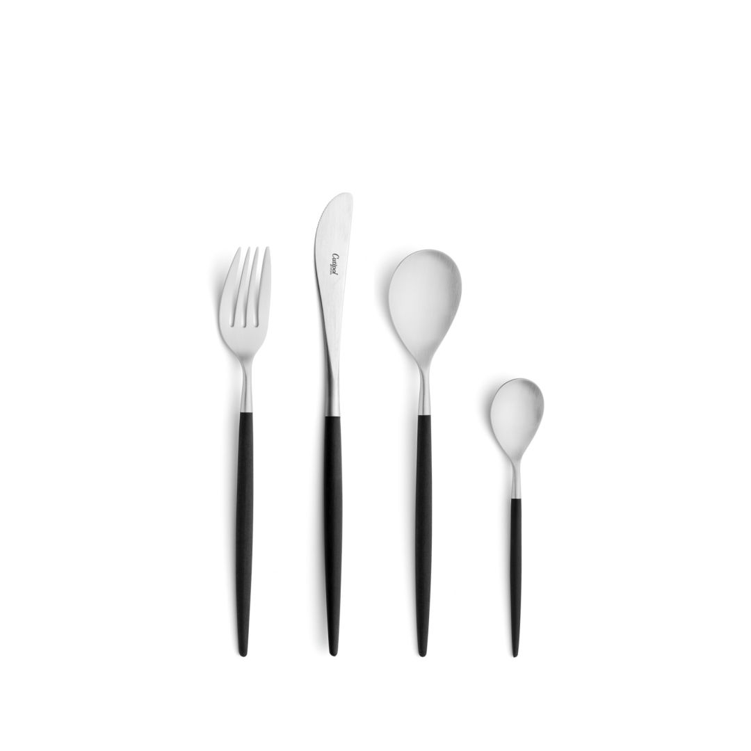 Cutipol Cutlery Mio with dessert fork, dessert knife, dessert spoon and tea-coffee spoon