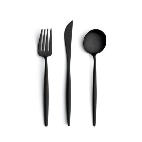 MOON MATTE BLACK 24 PC SET