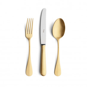 BAGUETTE MATTE GOLD 24 PCS SET